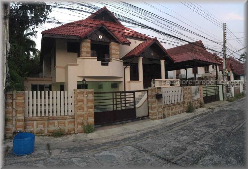 pattaya house hus att hyra rent East Pattaya