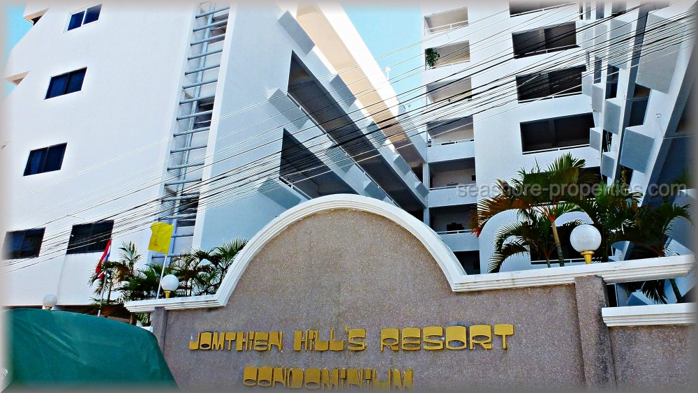jomtien hill resort condo    for sale in Pratumnak Pattaya