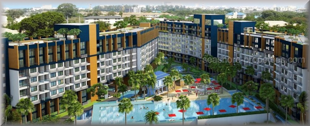 laguna beach resort 2  Condominiums till salu i Jomtien Pattaya