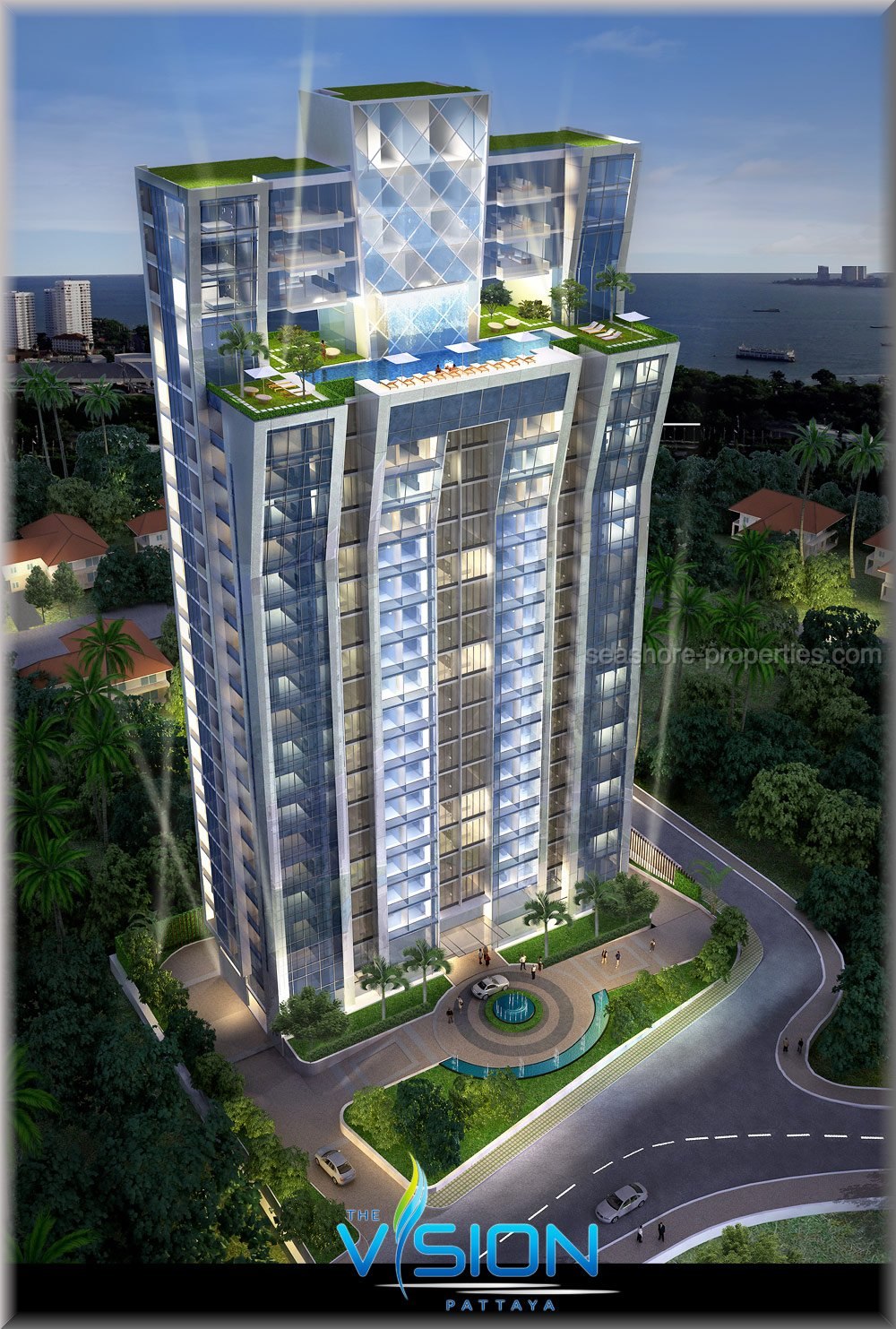 the vision condominium    for sale in Pratumnak Pattaya