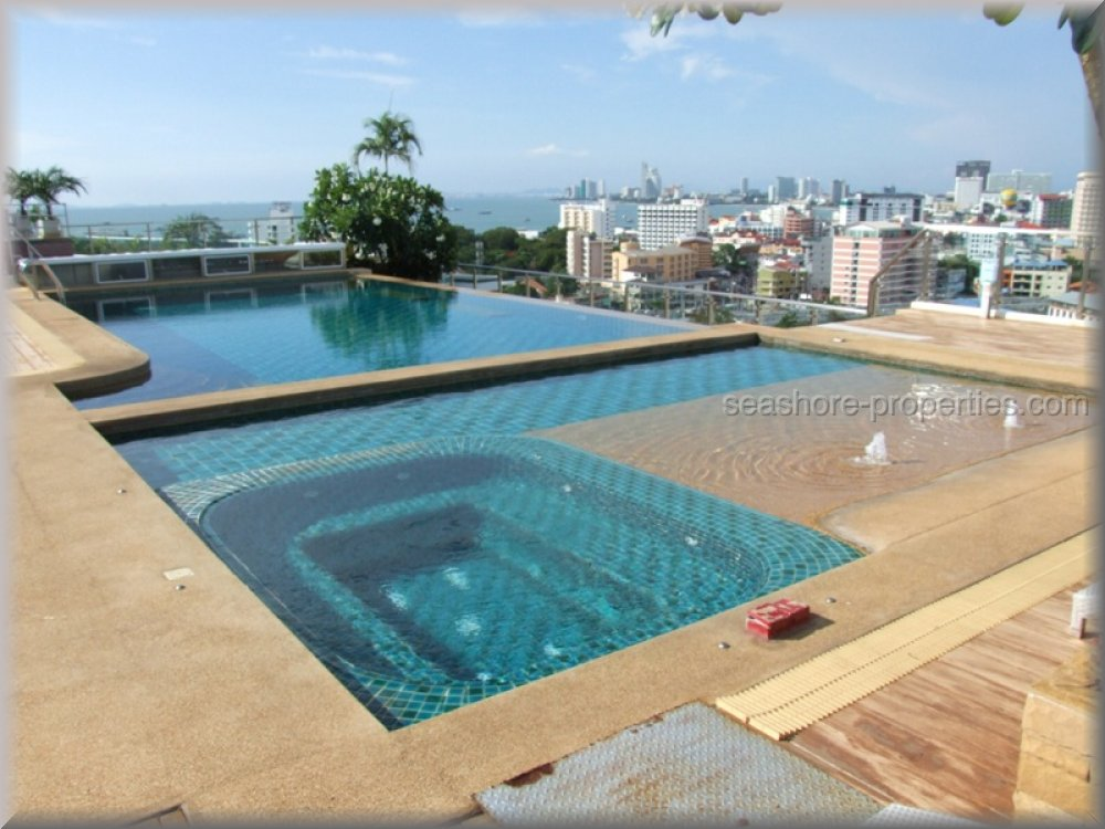 pattaya heights condominium to rent in Pratumnak Pattaya