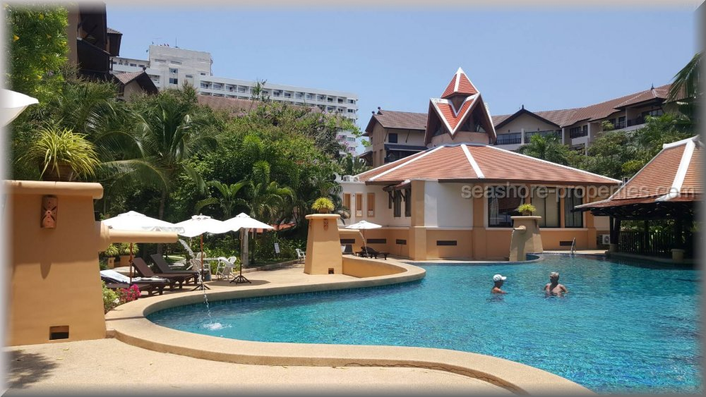 chateau dale condo    to rent in Jomtien Pattaya
