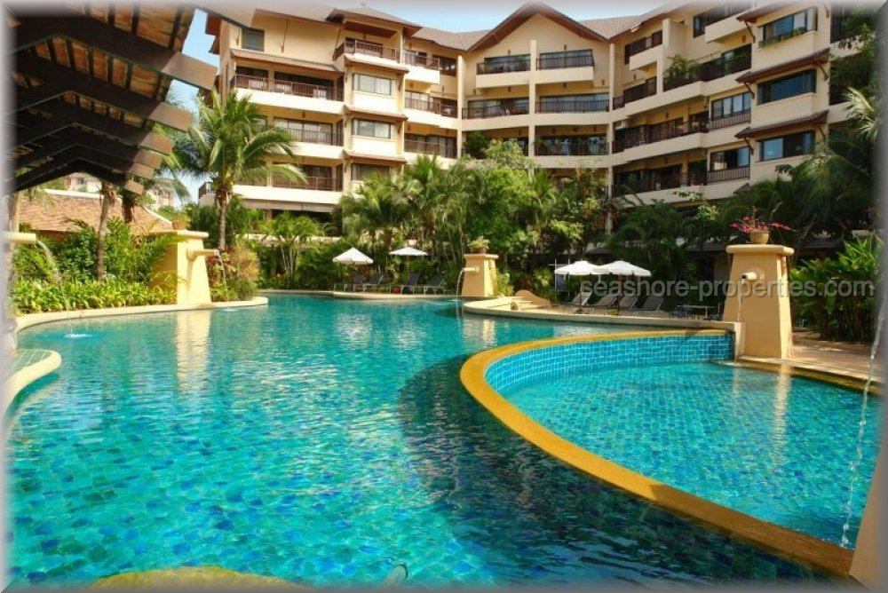 Chateau Dale ThaiBali Condo  to rent in Jomtien Pattaya
