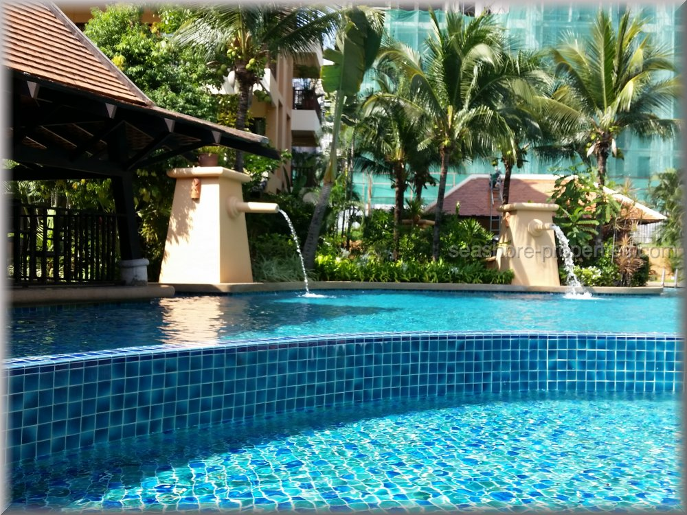 chateau dale thai bali condo  to rent in Jomtien Pattaya