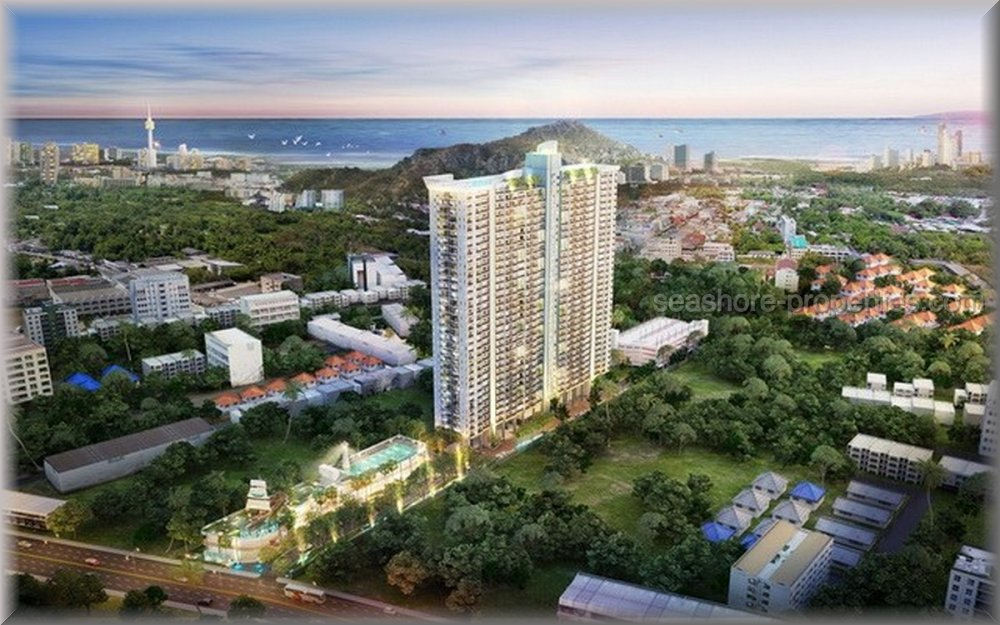 2 bedroom @supalai mare  Condominiums for sale in Jomtien Pattaya